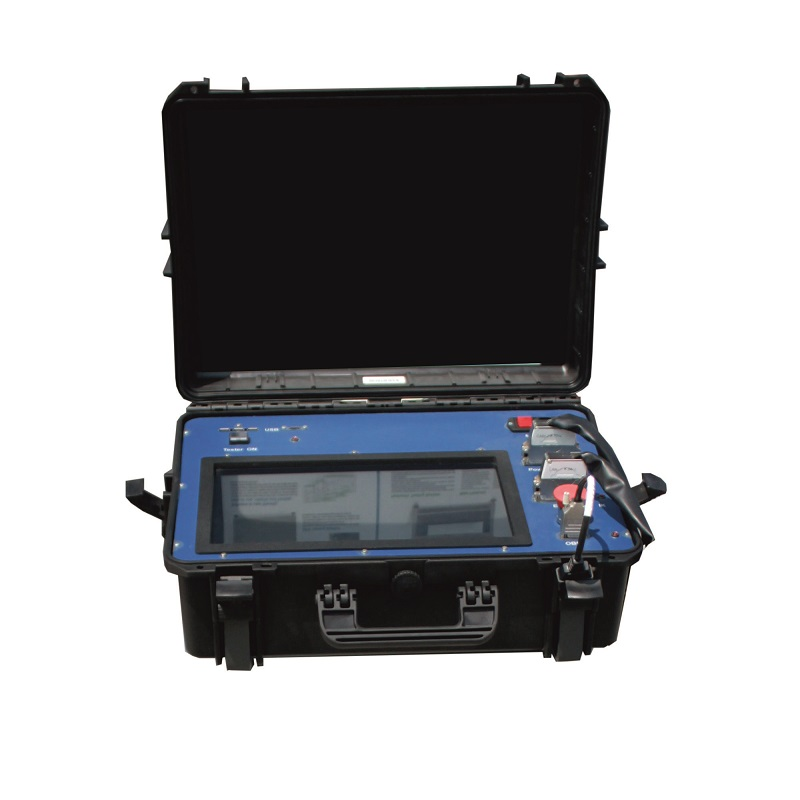 Electronic power steering testing system portable